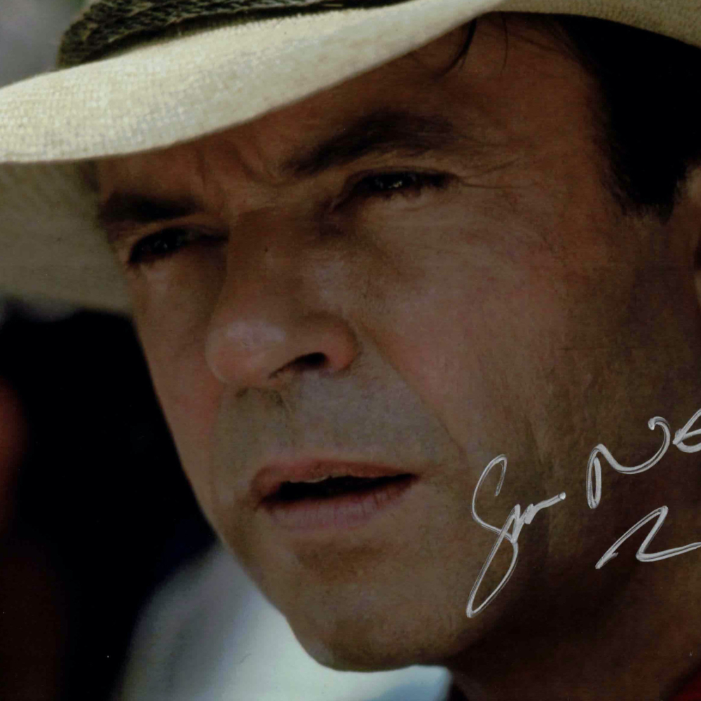 Sam Neill / Jurassic Park - autogram