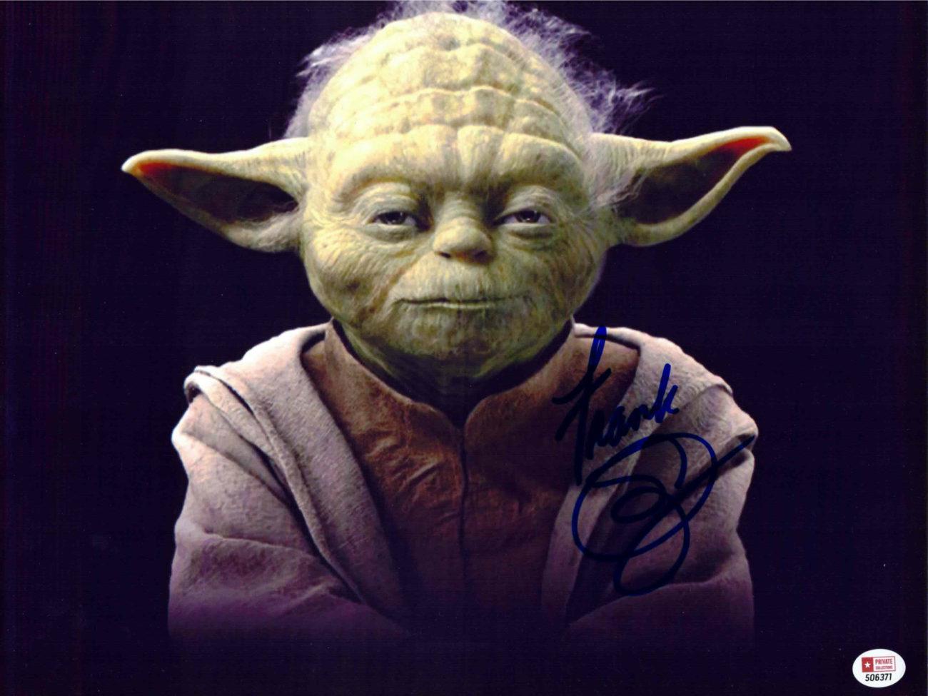 Frank Oz / Yoda, Star Wars - autogram
