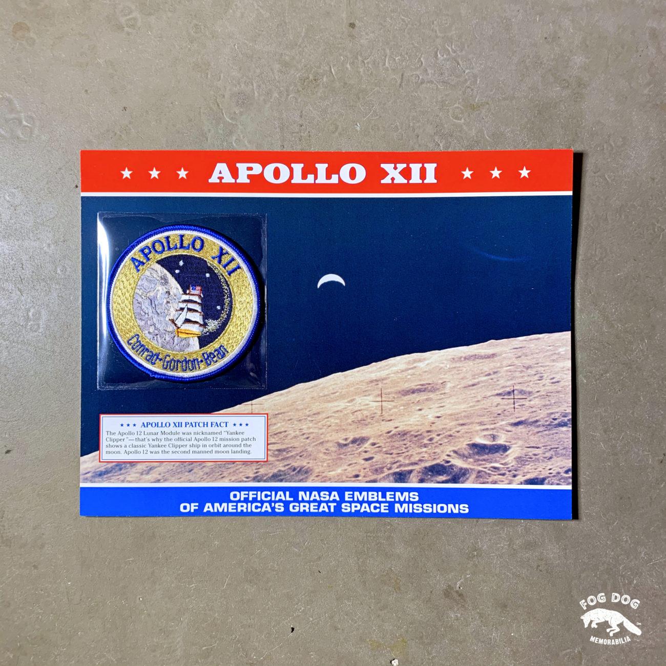 Oficiální textilní nášivka NASA - APOLLO XII