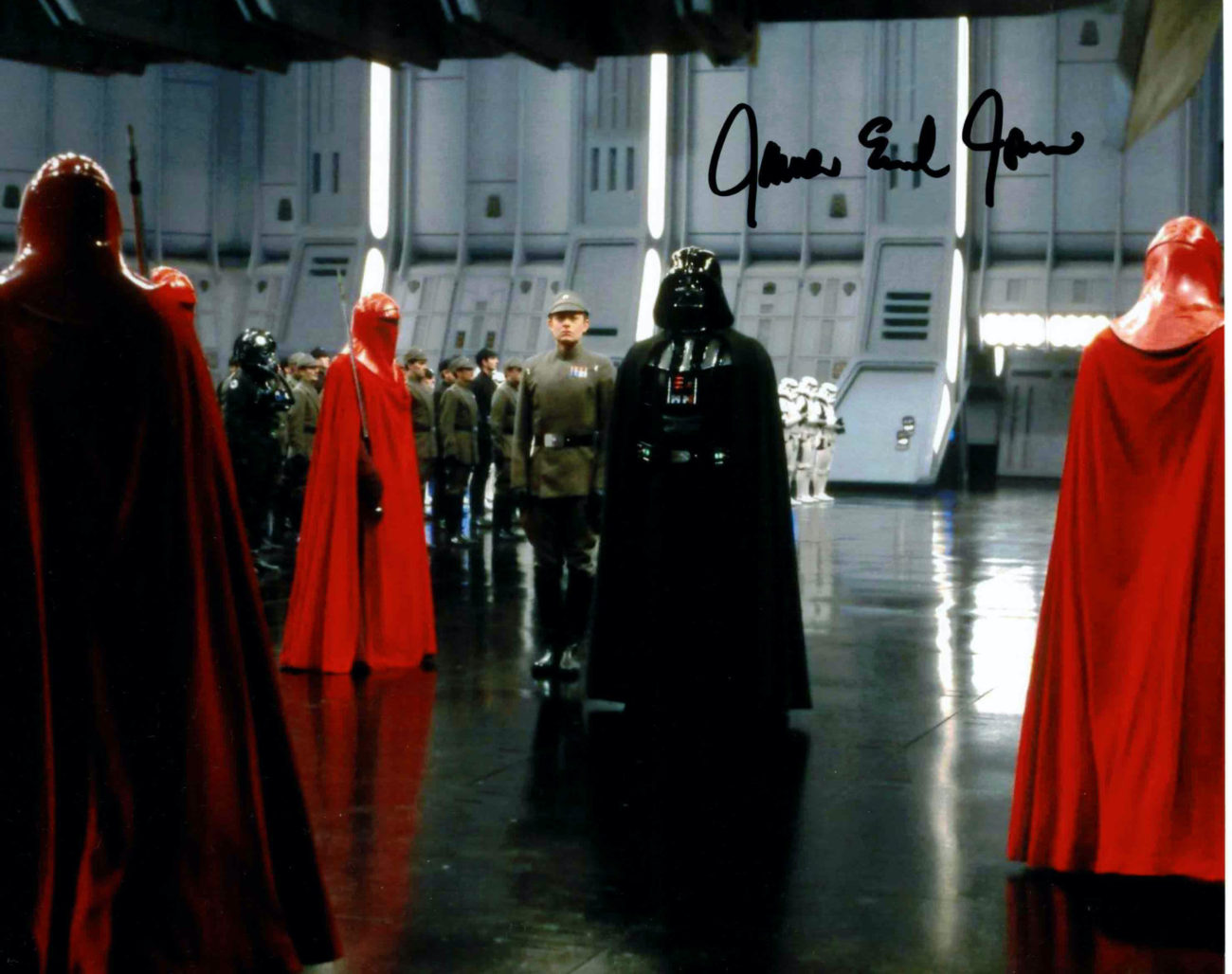 James Earl Jones / Darth Vader - autogram