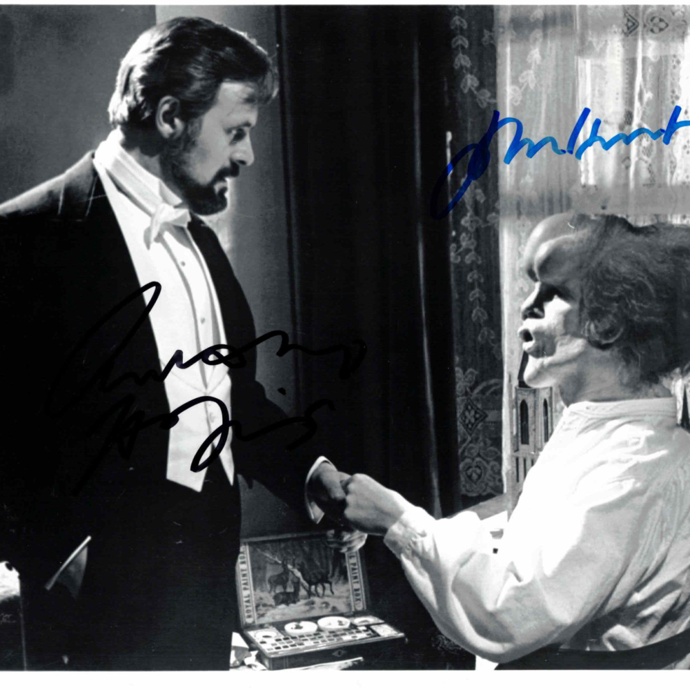Anthony Hopkins & John Hurt - autogram