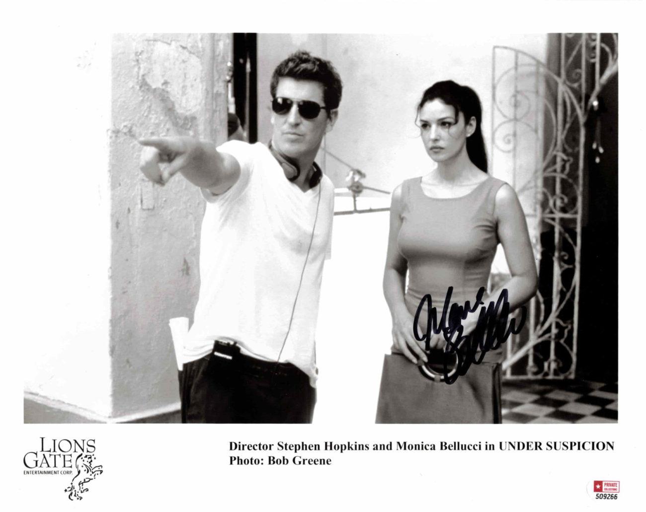 Monica Bellucci - autogram