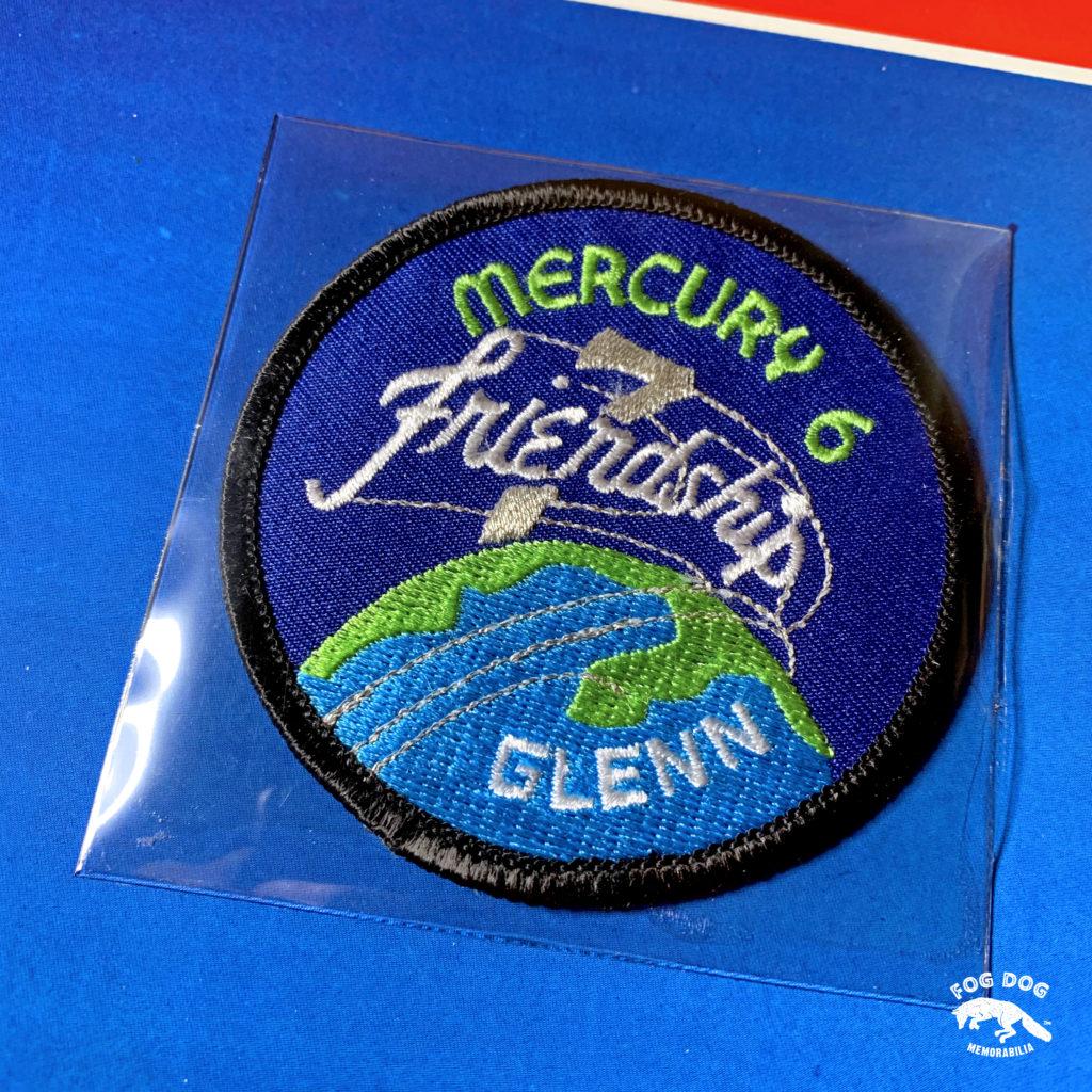 Oficiální textilní nášivka NASA - MERCURY 6