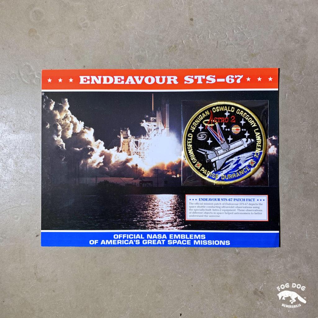 Oficiální textilní nášivka NASA - ENDEAVOUR STS-67