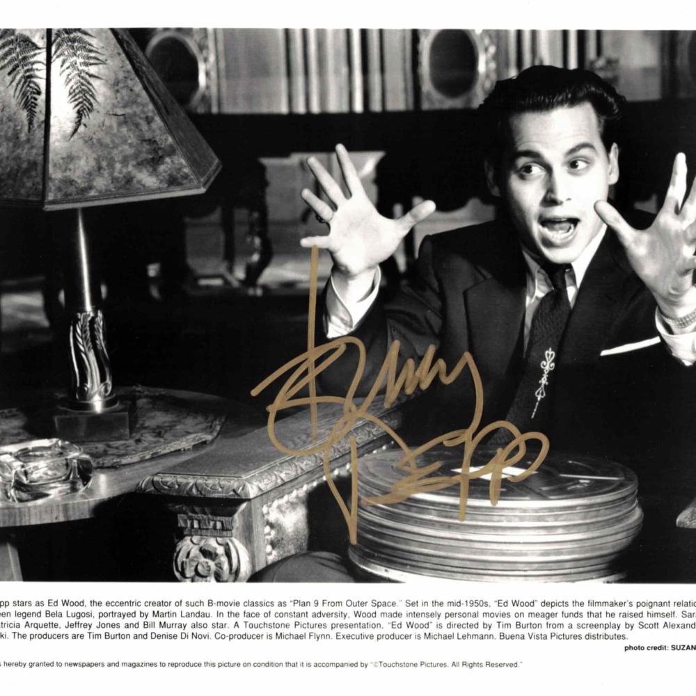 Johnny Depp - autogram