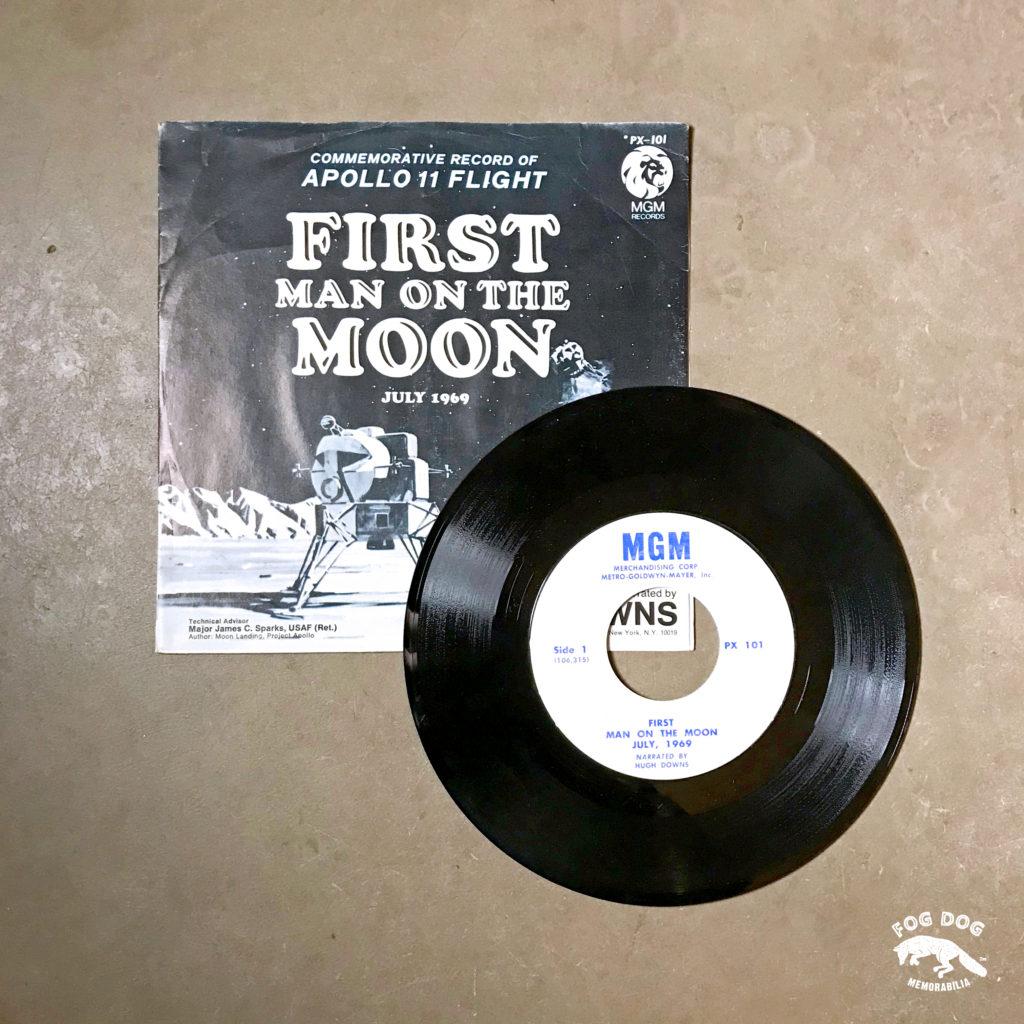 LP deska FIRST MAN ON THE MOON - oficiální nahrávka
