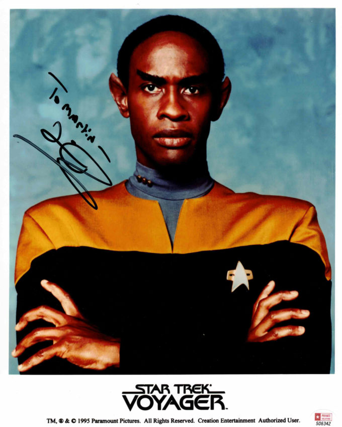 Tim Russ / Star Trek - autogram