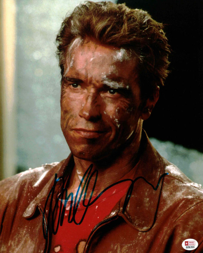 Arnold Schwarzenegger - autogram
