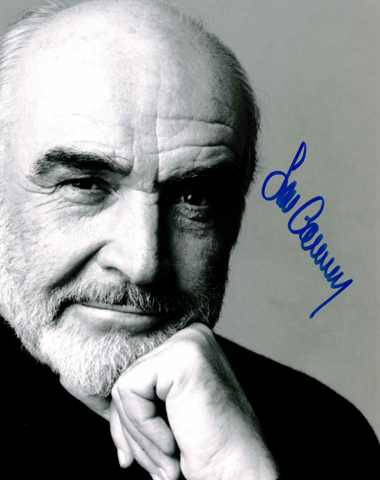 Sean Connery - autogram
