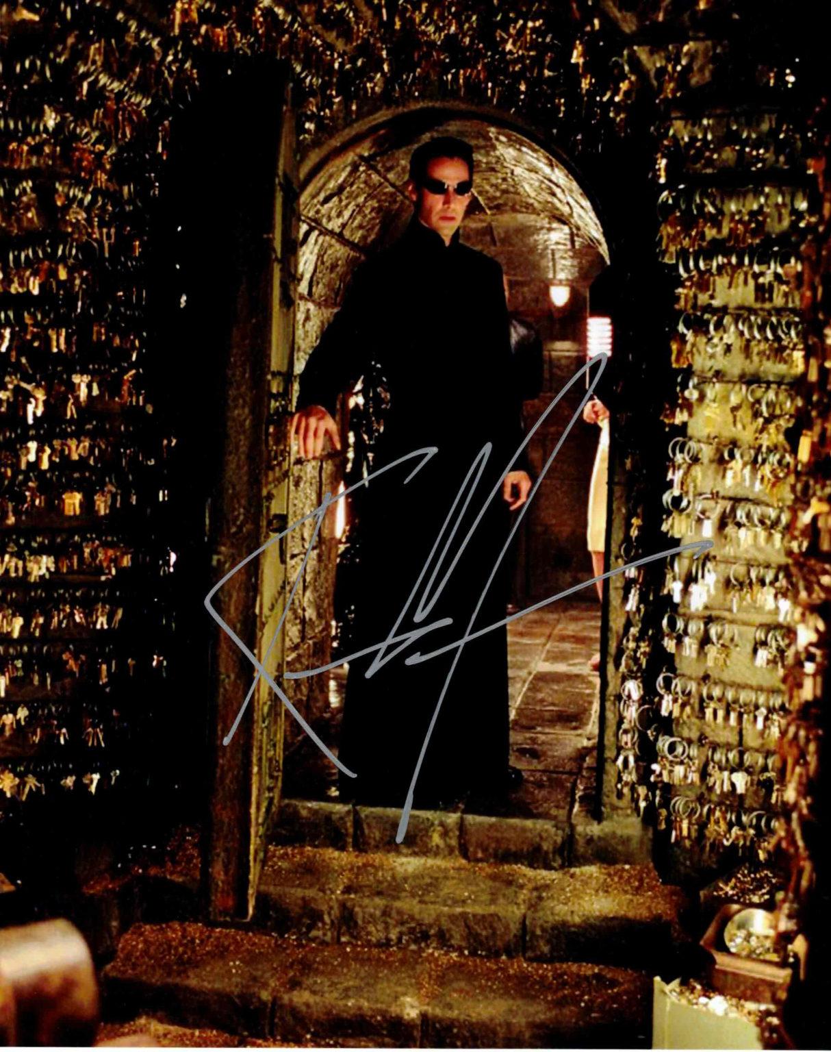Keanu Reeves / Matrix - autogram