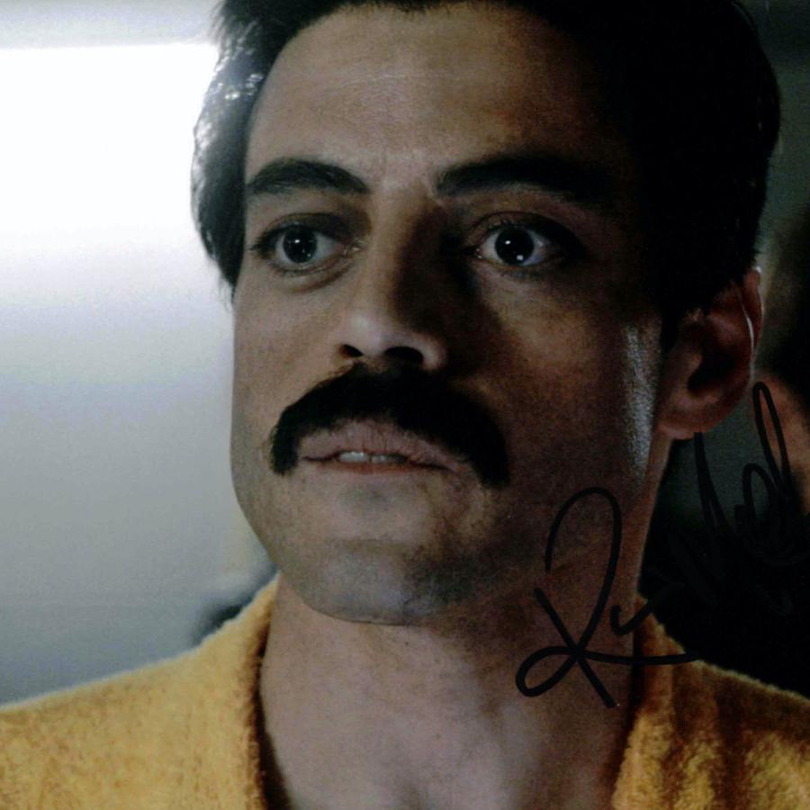Rami Malek jako Freddie Mercury / QUEEN - autogram