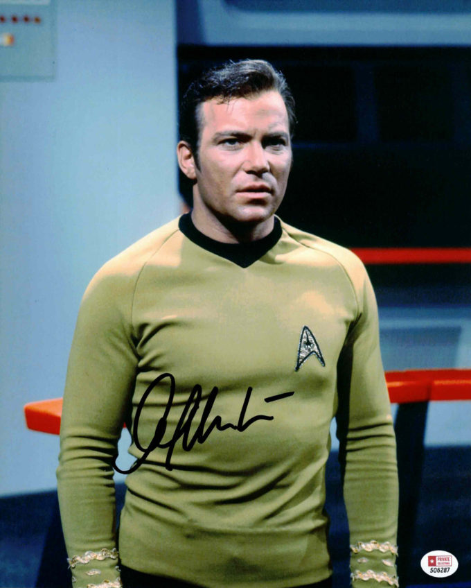 William Shatner / Star Trek - autogram