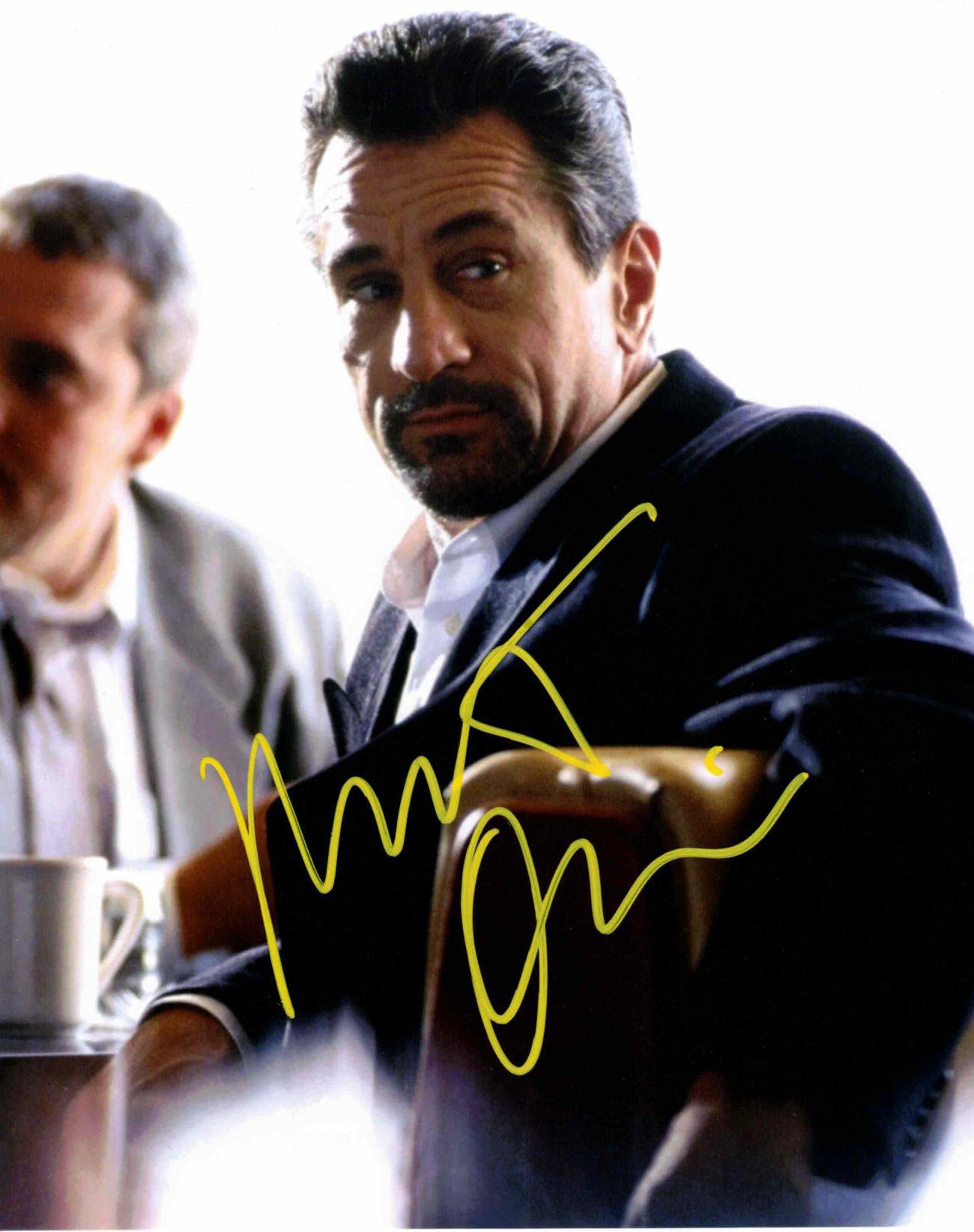 Robert De Niro - autogram