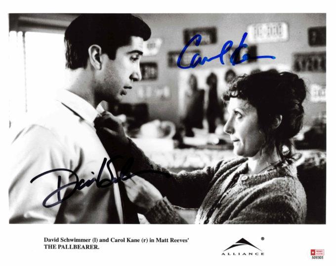 David Schwimmer & Carol Kane - autogram