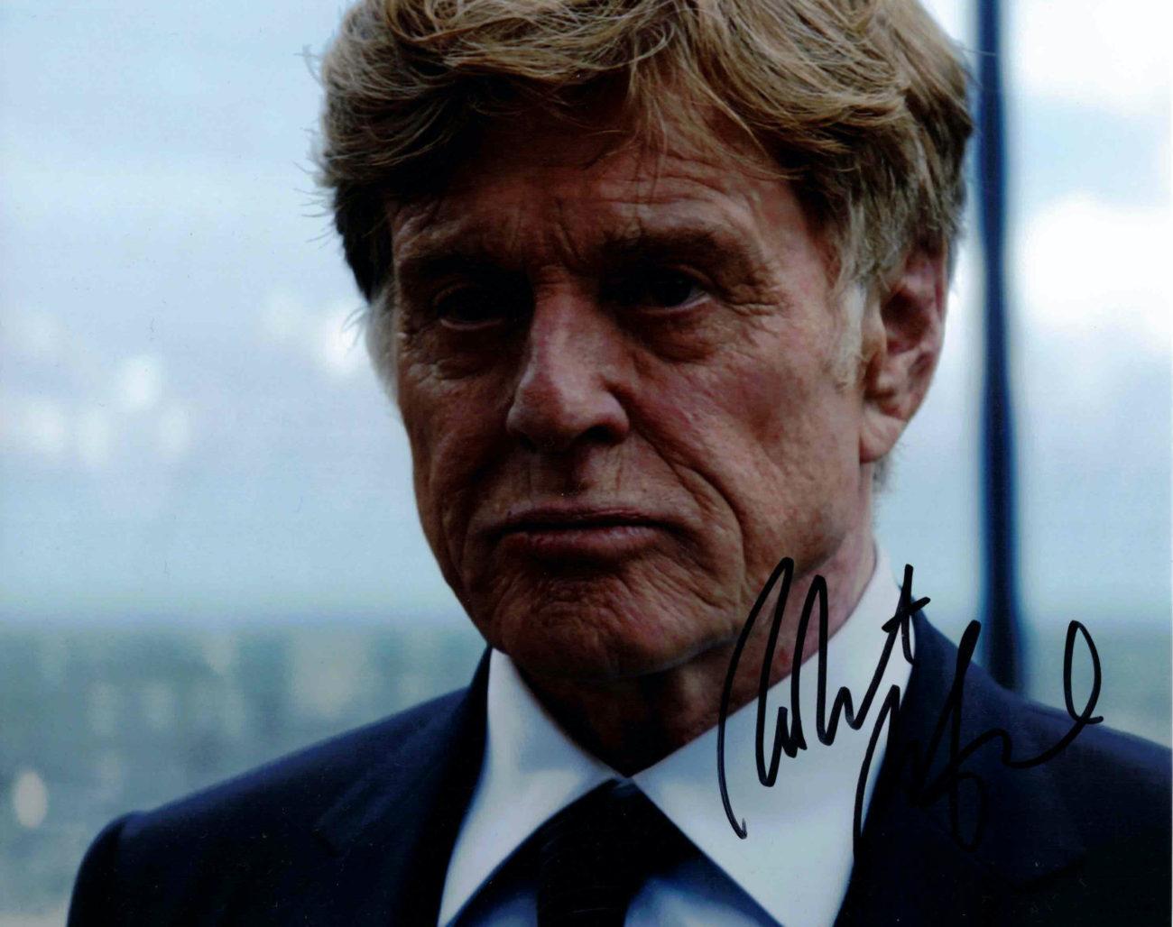 Robert Redford - autogram