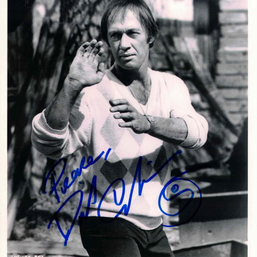 David Carradine - autogram