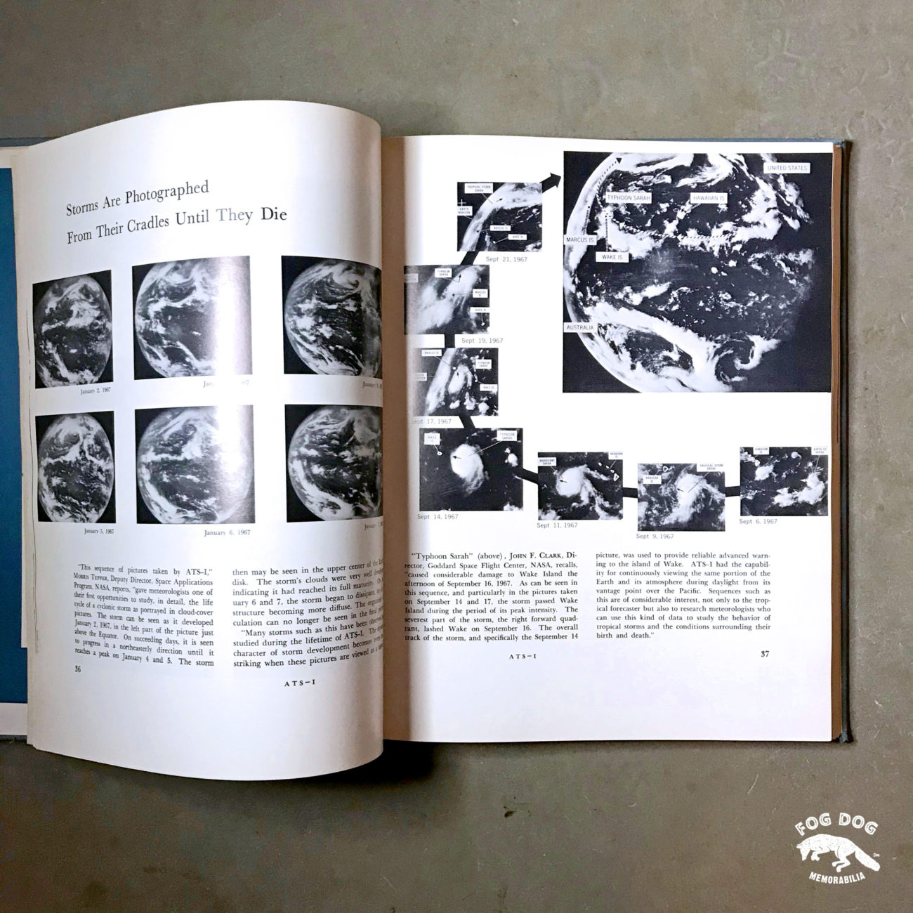 NASA publikace EXPLORING SPACE WITH A CAMERA (1968)