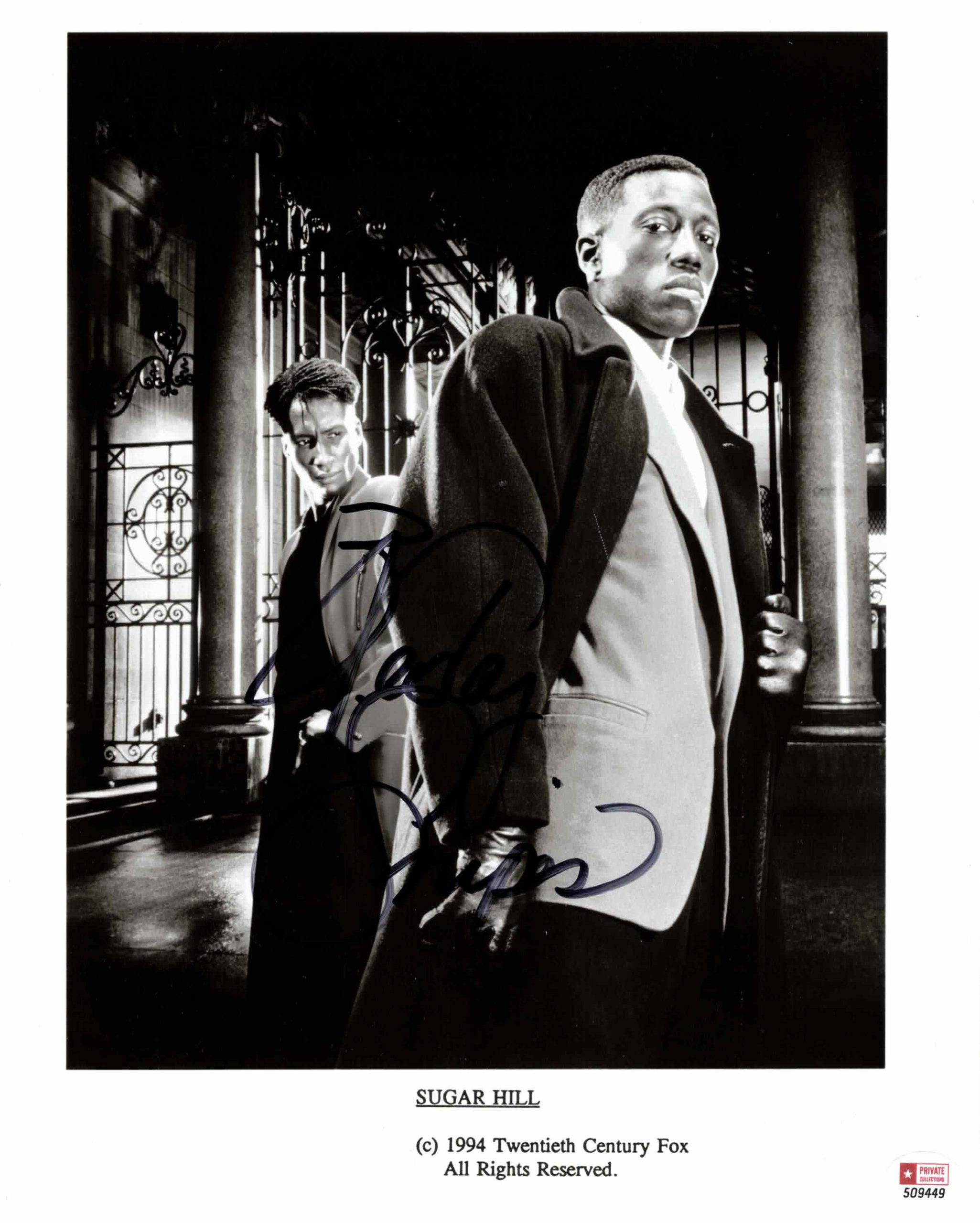 Wesley Snipes - autogram