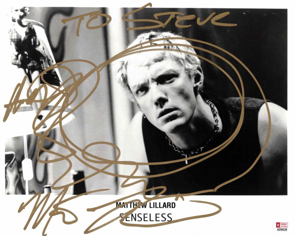 Matthew Lillard - autogram