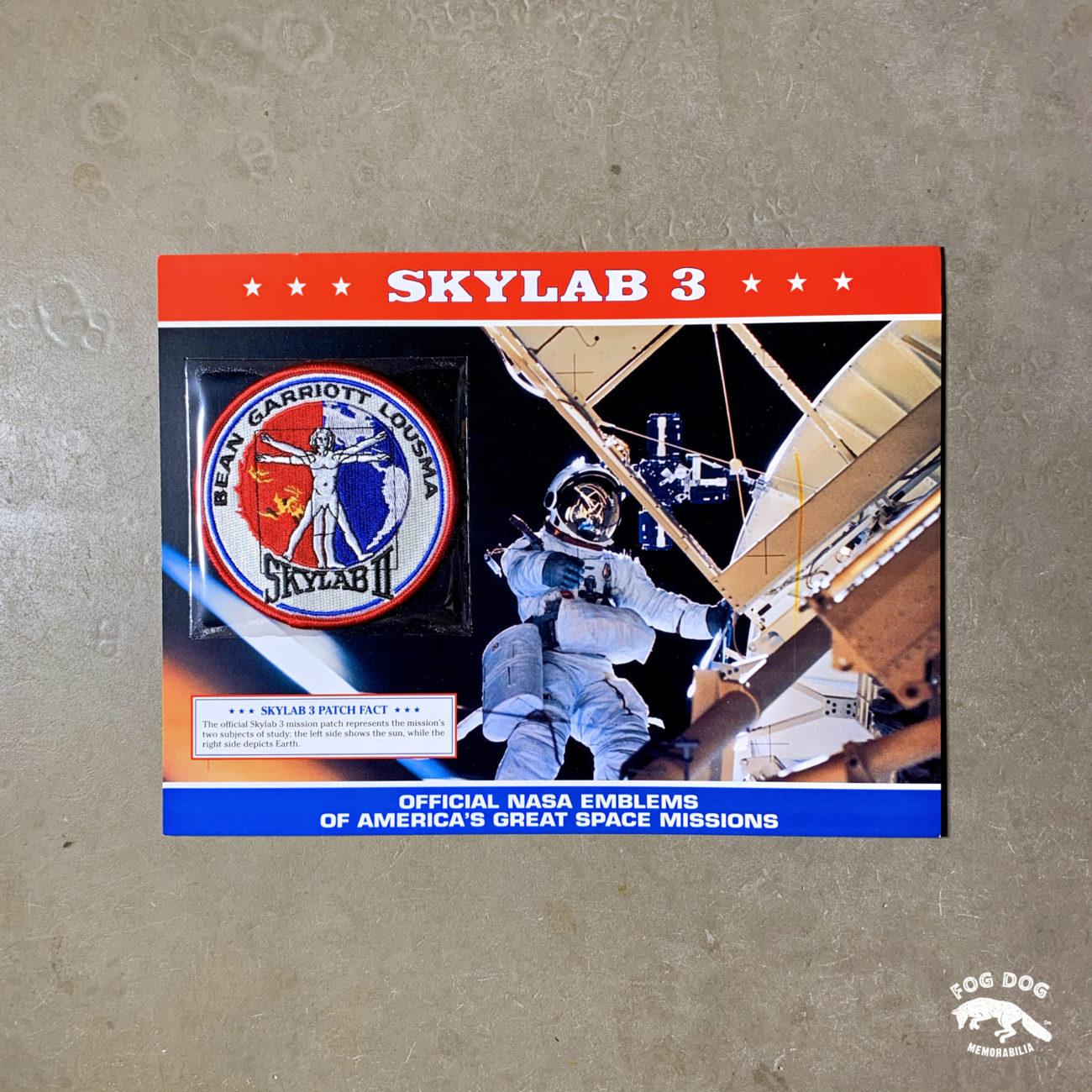 Oficiální textilní nášivka NASA - SKYLAB 3
