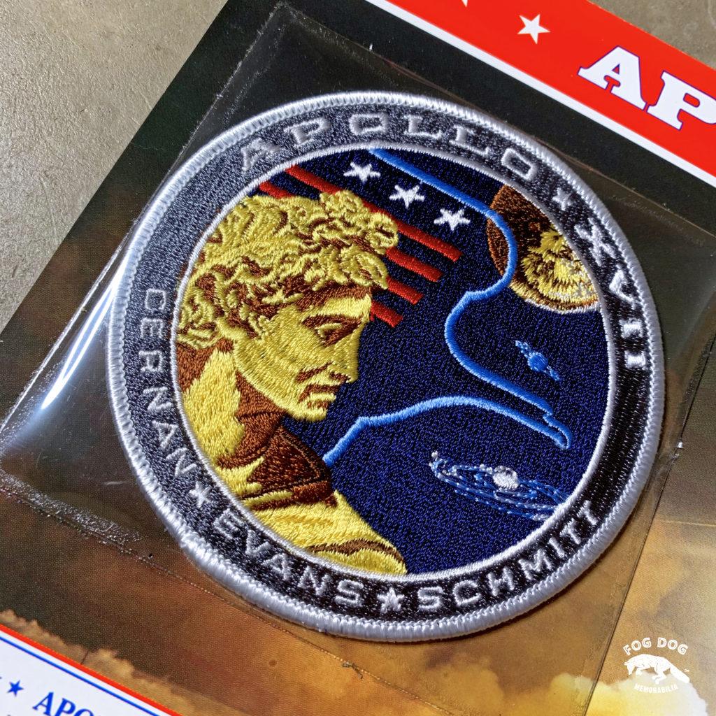 Oficiální textilní nášivka NASA - APOLLO XVII