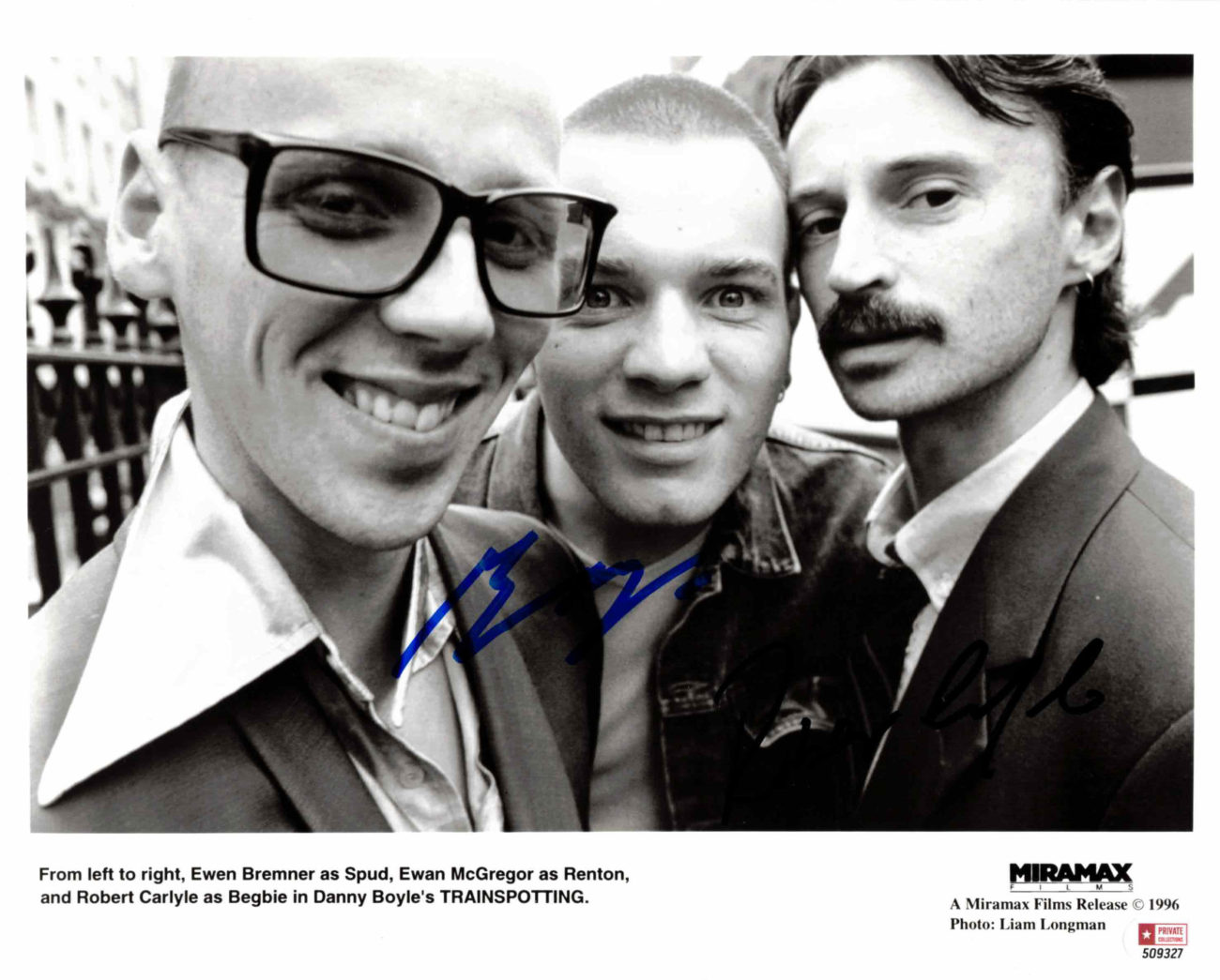 Ewan McGregor & Robert Carlyle / Trainspotting - autogram