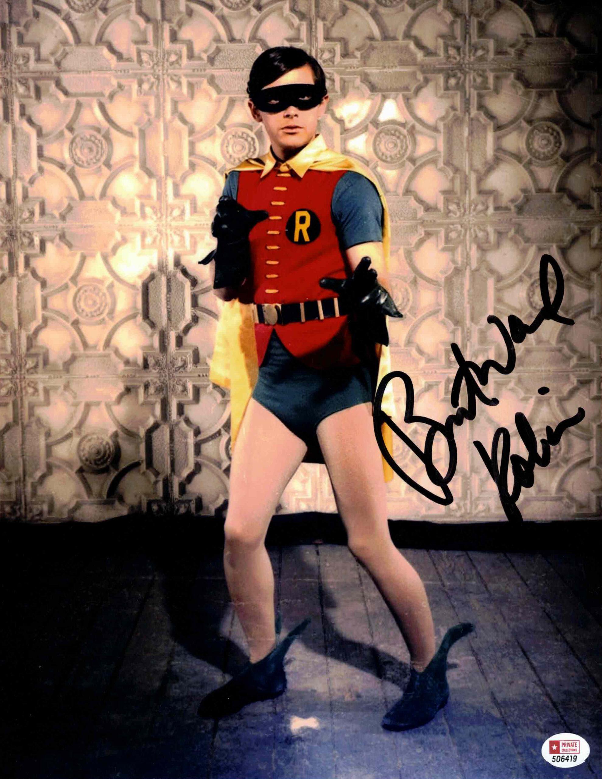 Burt Ward / BATMAN - autogram