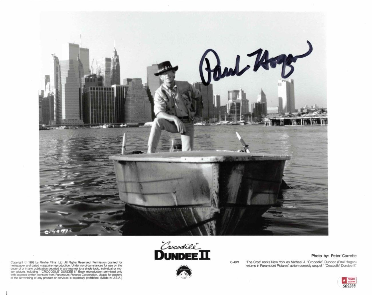 Paul Hogan - autogram