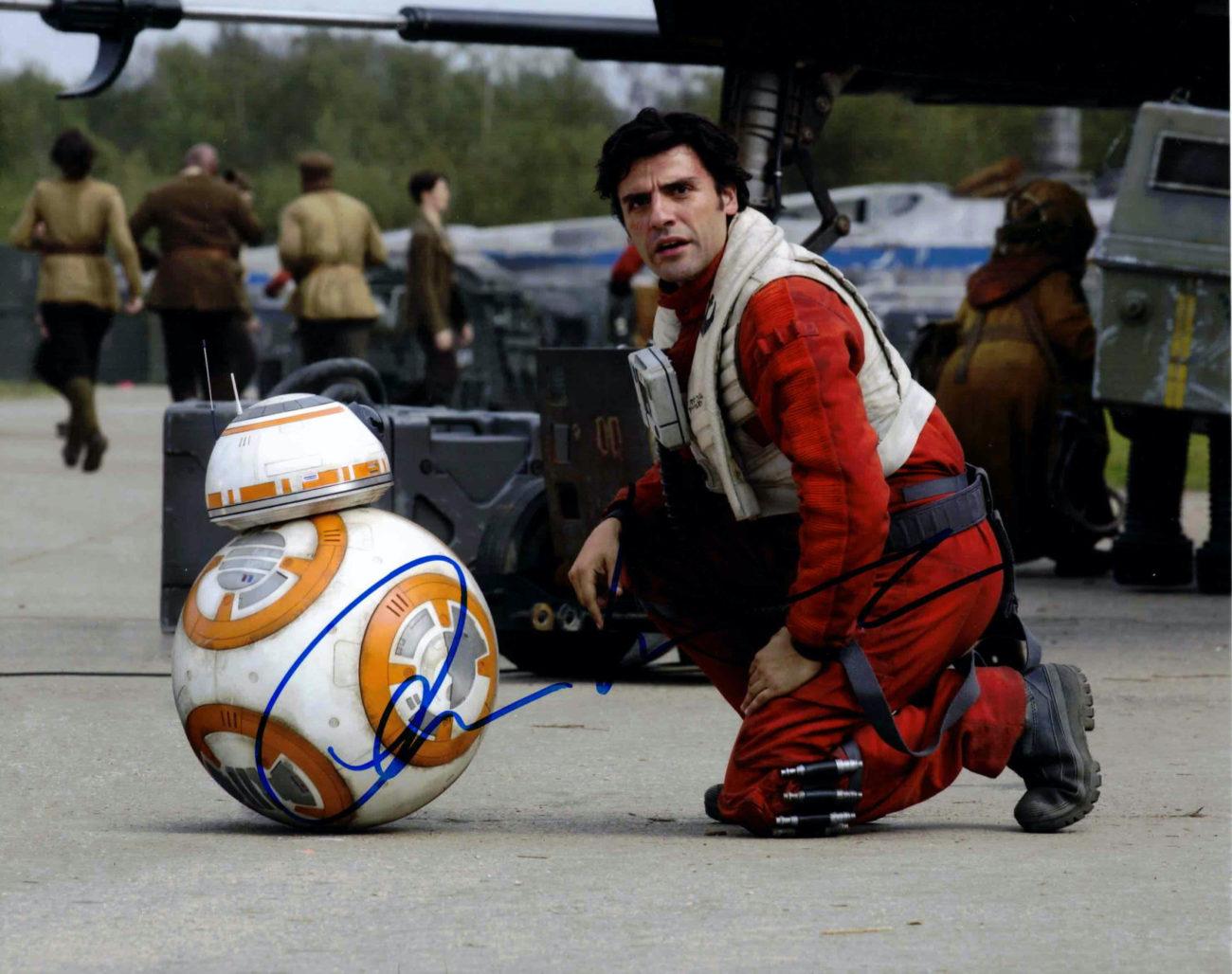 Oscar Isaac / Star Wars - autogram