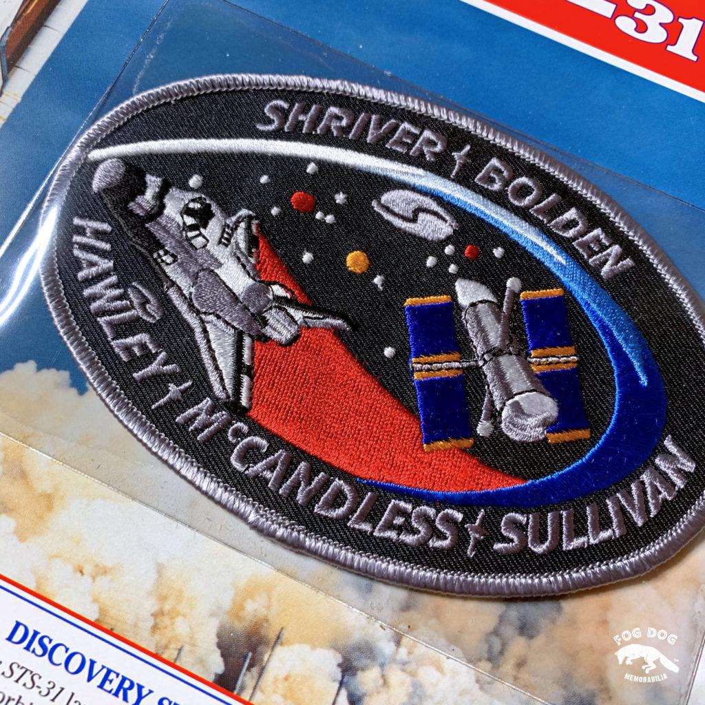 Oficiální textilní nášivka NASA - DISCOVERY STS-31