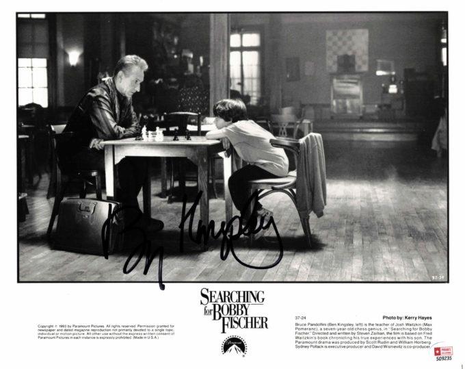 Ben Kingsley - autogram