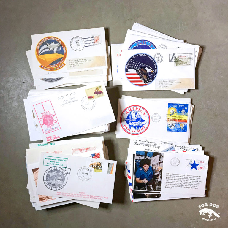 Staré obálky s vesmírnou tématikou (10 ks)
