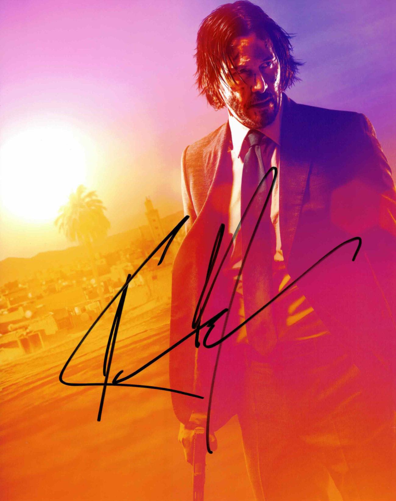 Keanu Reeves - autogram