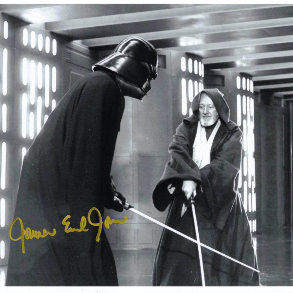 James Earl Jones / Darth Vader - autogram