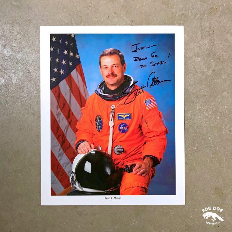 Autogram / astronaut Scott D. Altman