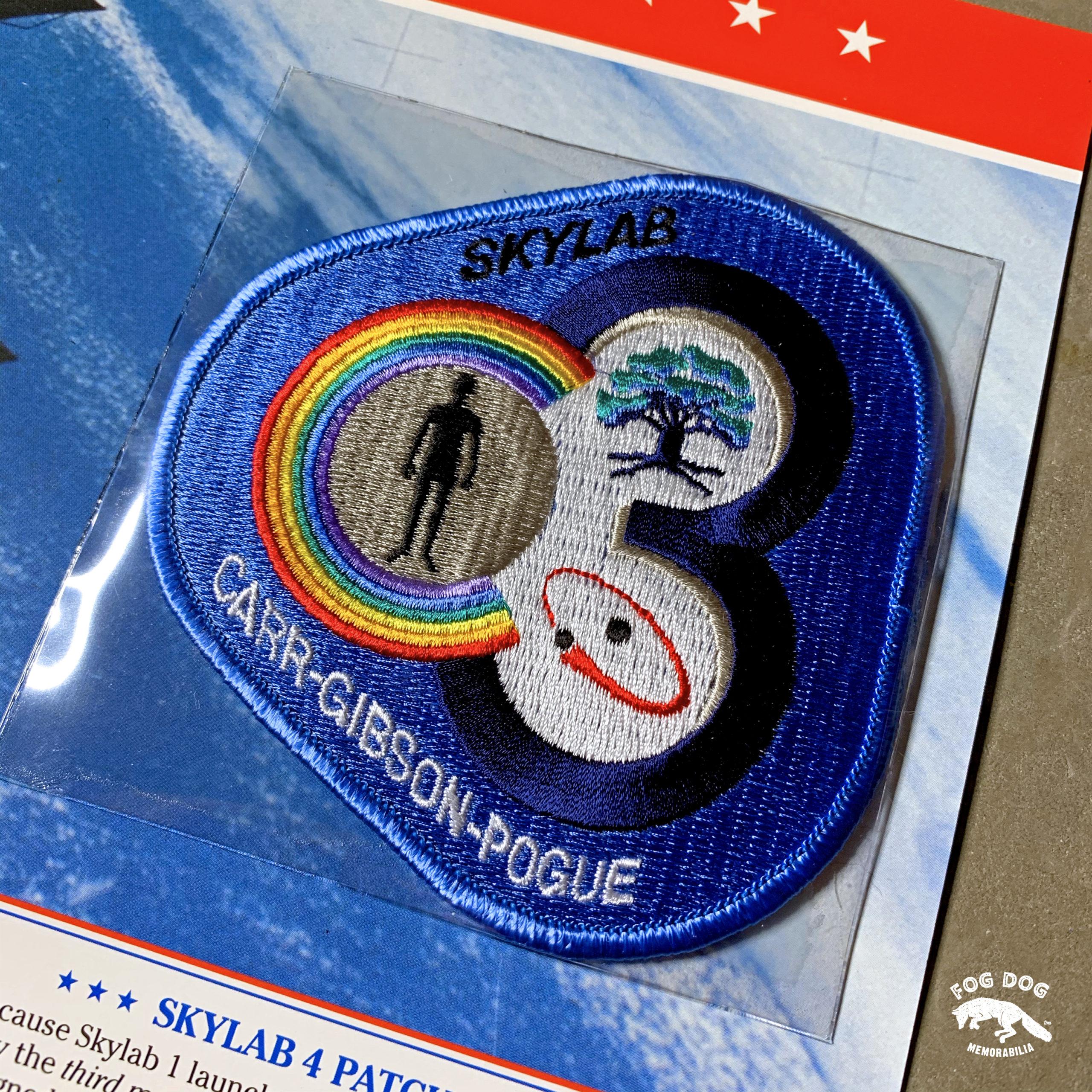 Oficiální textilní nášivka NASA - SKYLAB 4