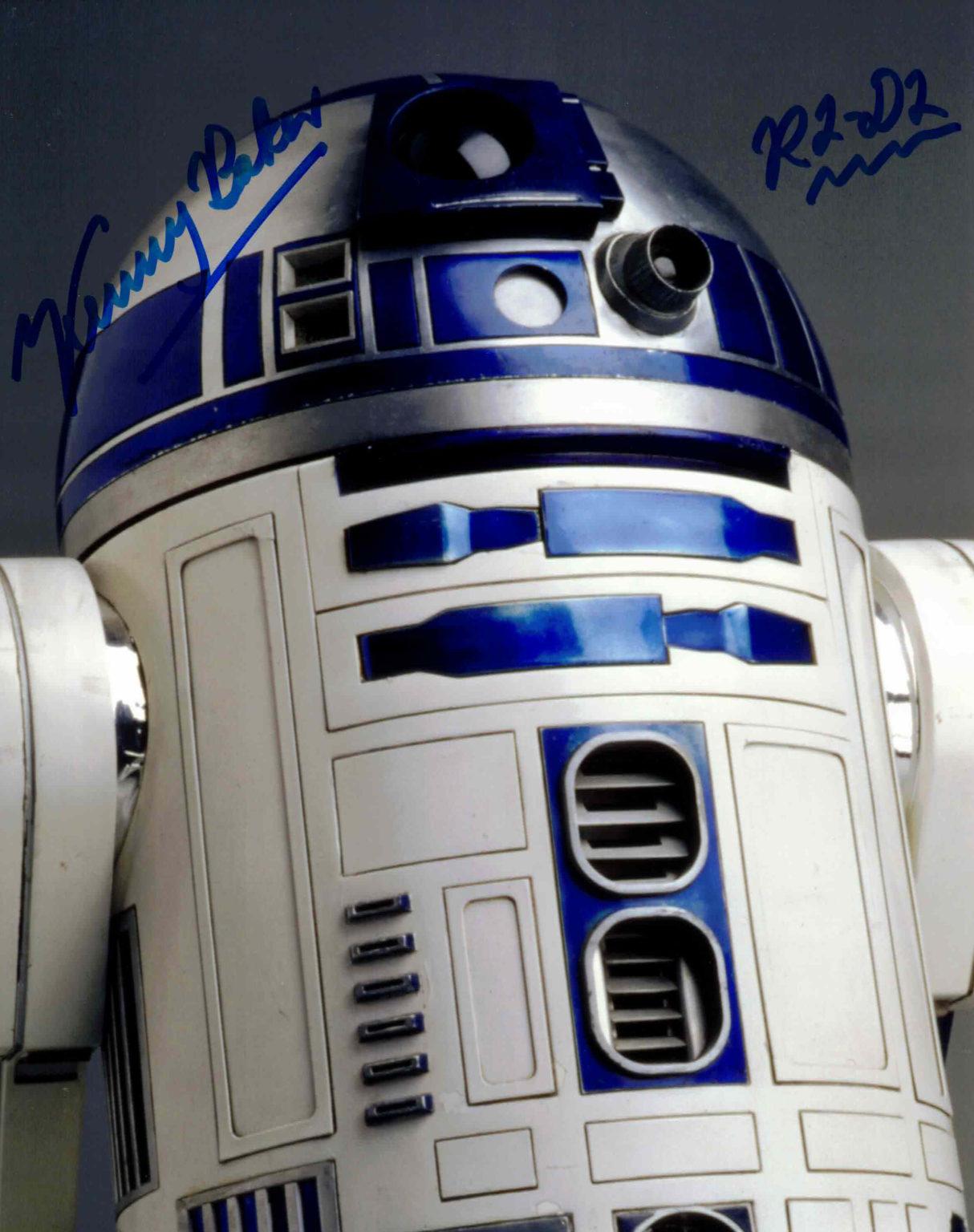 Kenny Baker / R2-D2, Star Wars - autogram