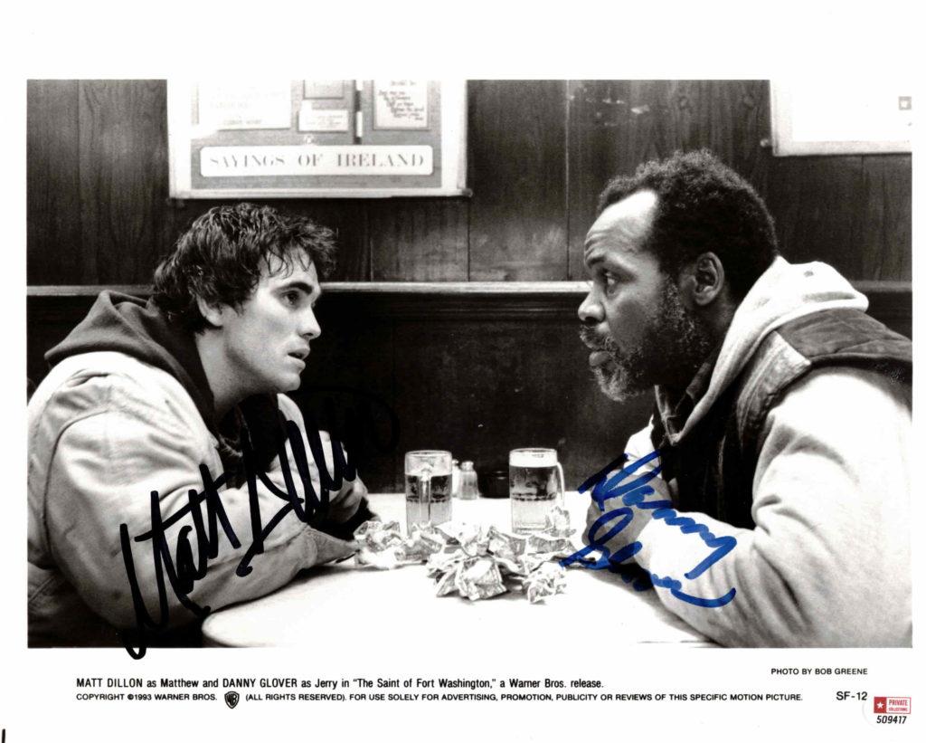 Matt Dillon & Danny Glover - autogram