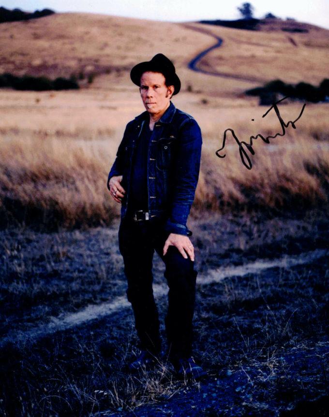 Tom Waits - autogram