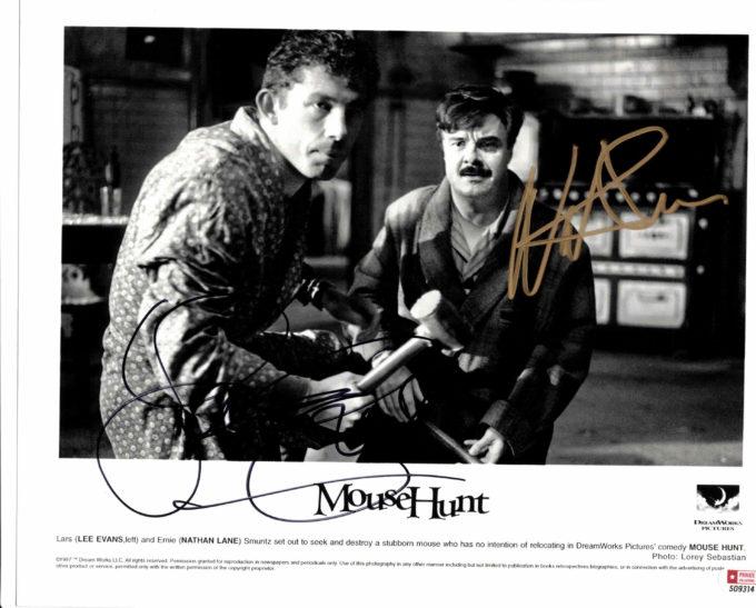 Nathan Lane & Lee Evans - autogram
