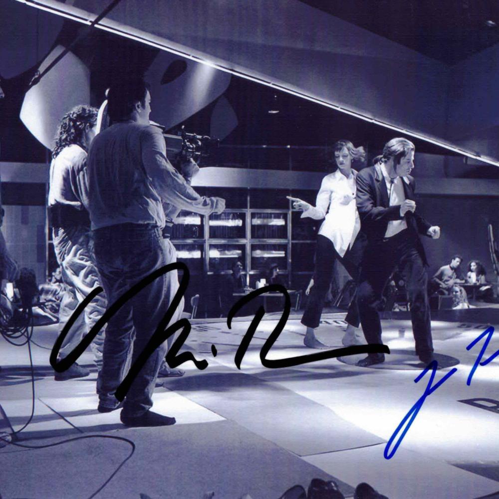 Uma Thurman & Jonh Travolta / Pulp fiction - autogram