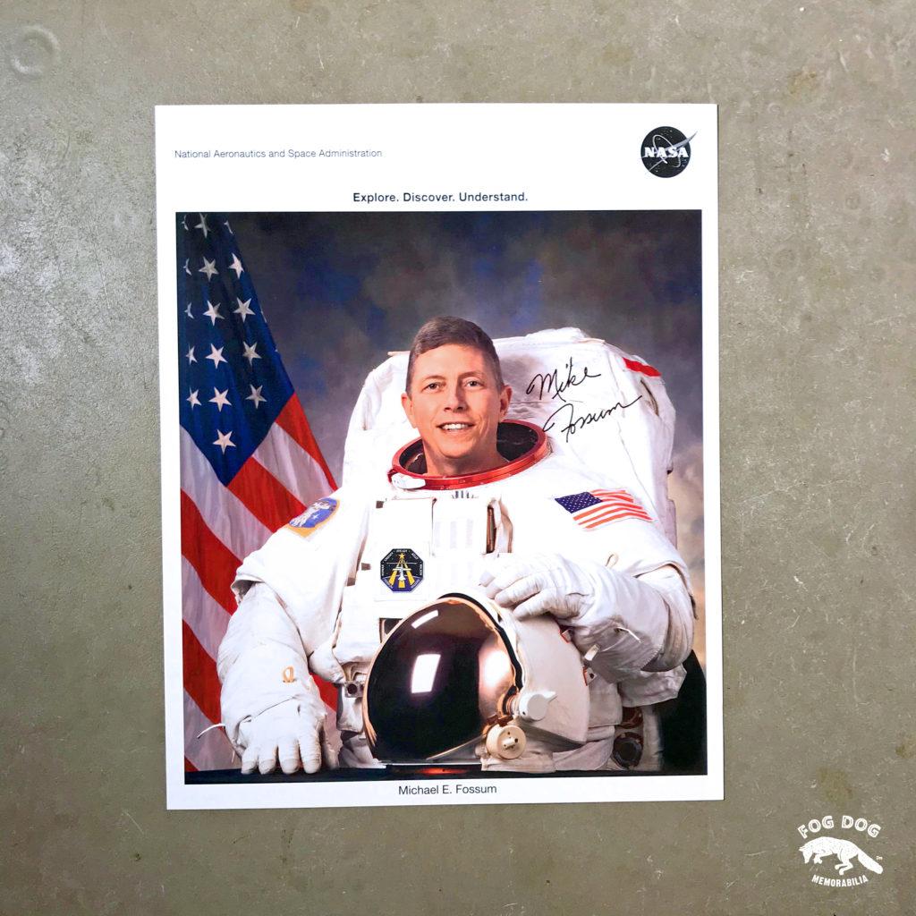 Autogram / astronaut Michael Fossum