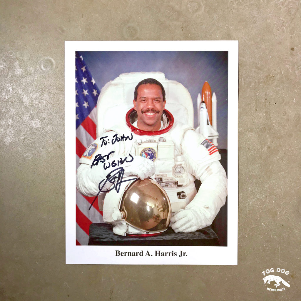 Autogram / astronaut Bernard Anthony Harris