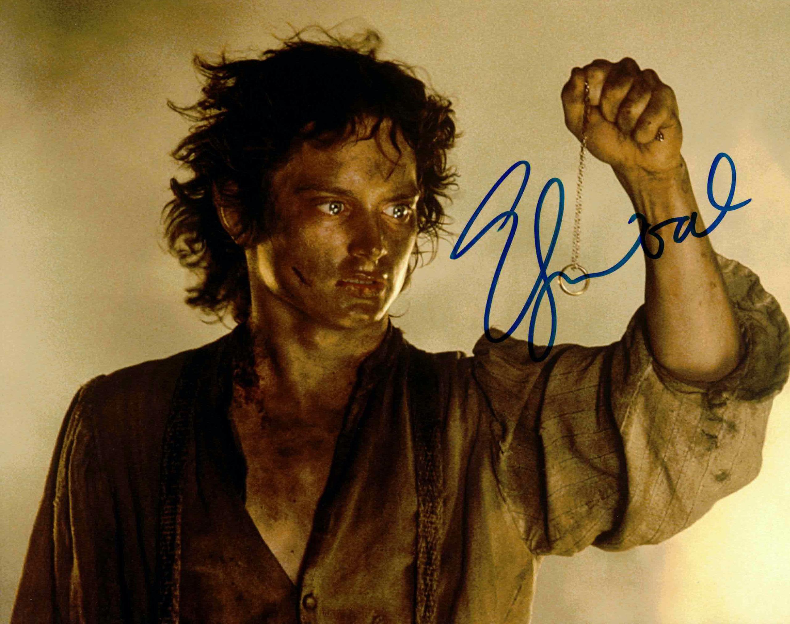 Elijah Wood / Frodo, Pán prstenů - autogram