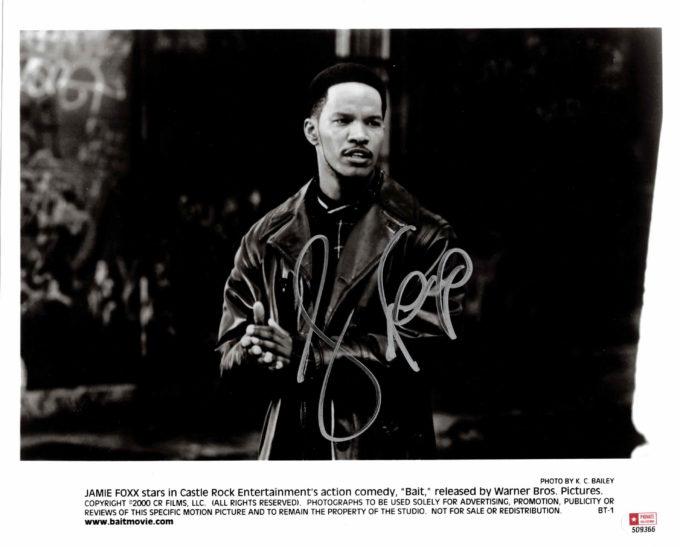 Jamie Foxx - autogram