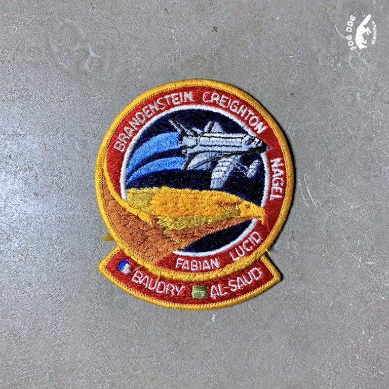 Stará NASA nášivka