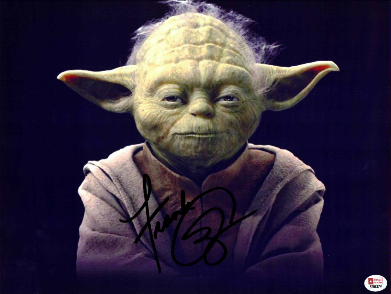 Frank Oz / Yoda, Star Wars - autogram