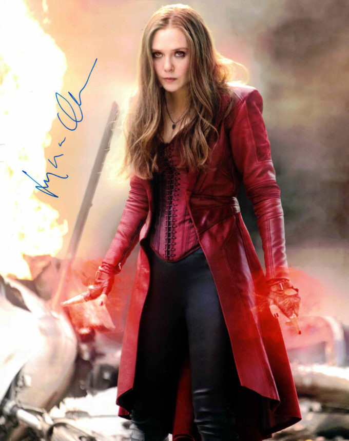 Elizabeth Olsen / Avengers - autogram