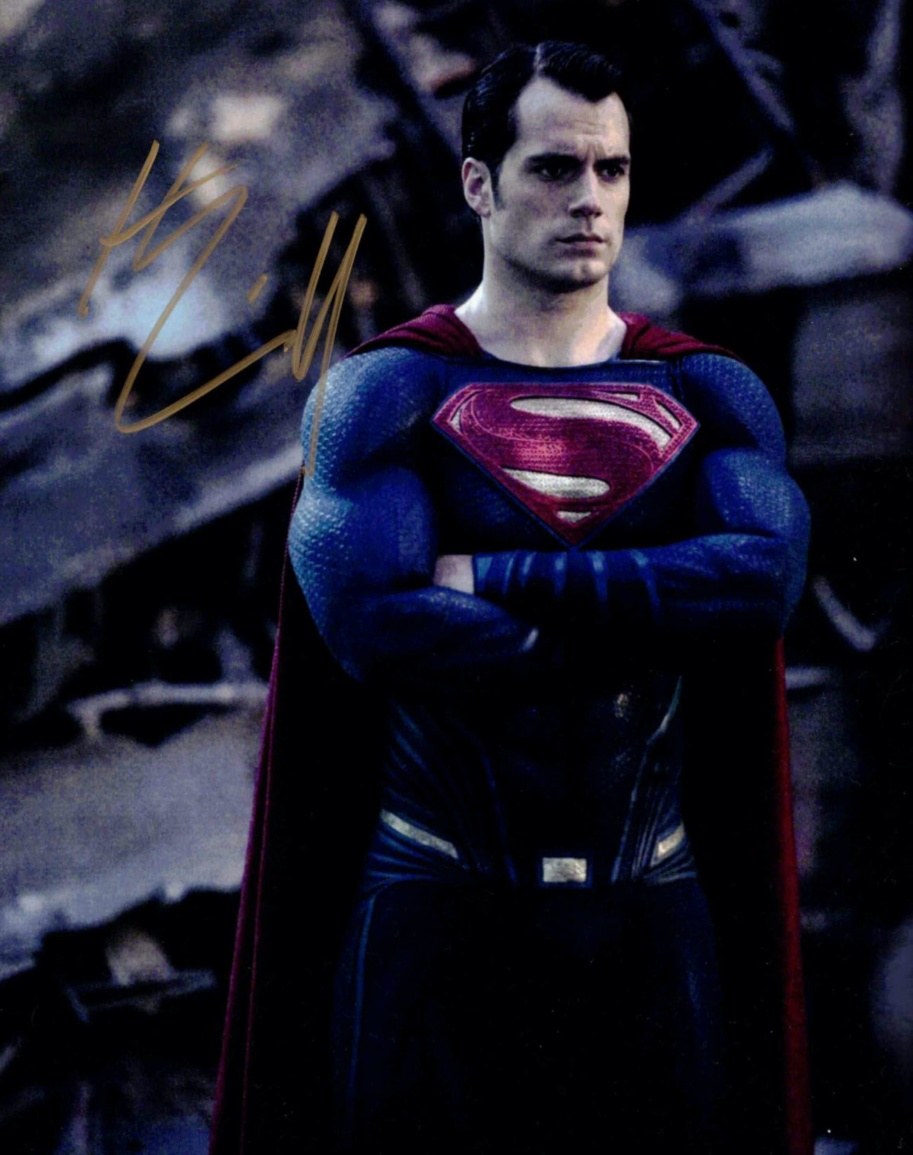 Henry Cavill / Superman - autogram