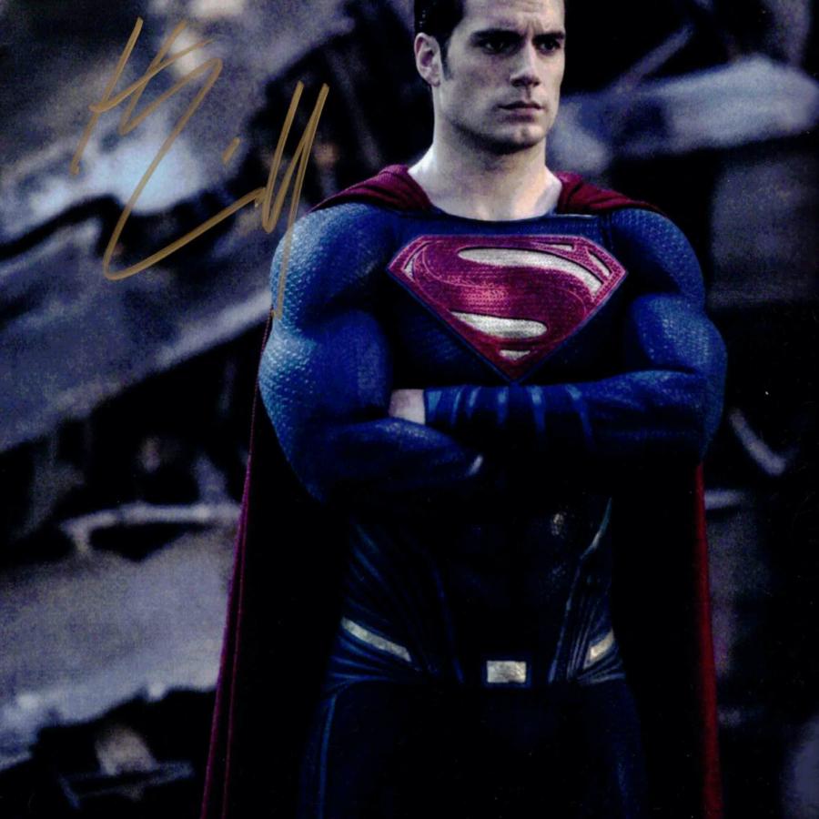 Henry Cavill / Superman - autogram